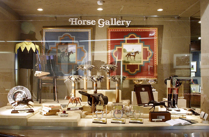 ホースギャラリー「JRA賞を受賞した名馬たち」